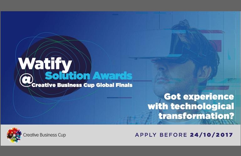 Watify Solution Award 2017