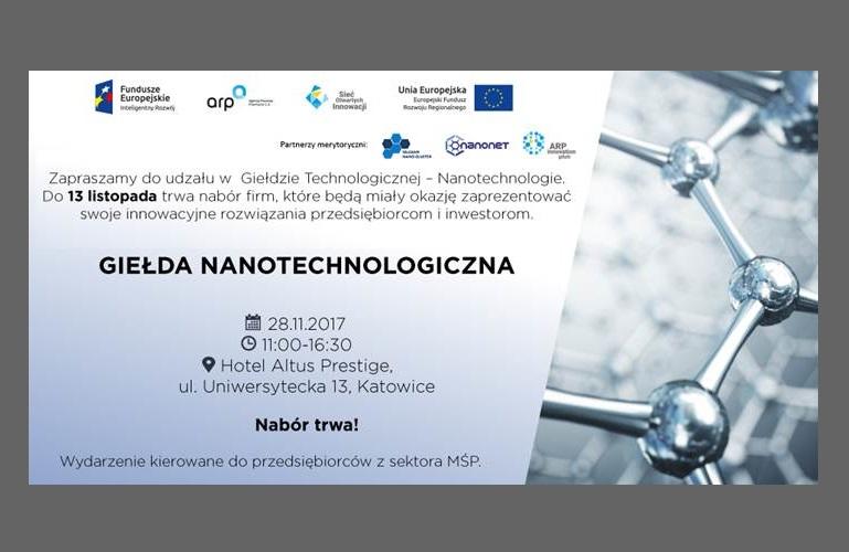 Pierwsza w Polsce Giełda Nanotechnologiczna