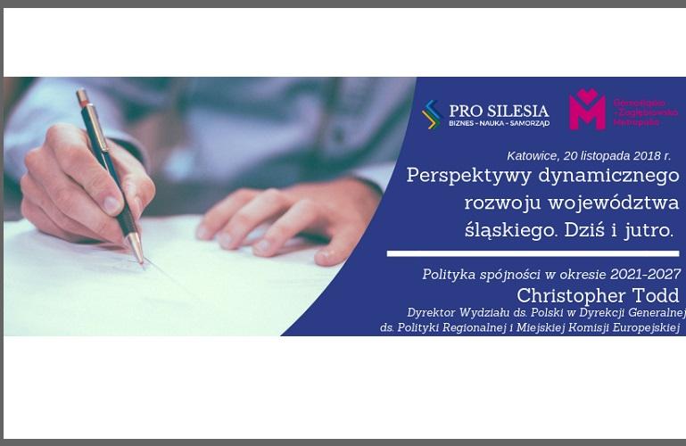 Jakie prognozy dla Śląska po 2020 r. ma KE? Przyjdź i dowiedz się więcej!