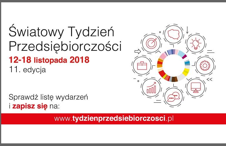 12 listopada rusza Światowy Tydzień Przedsiębiorczości w Polsce!