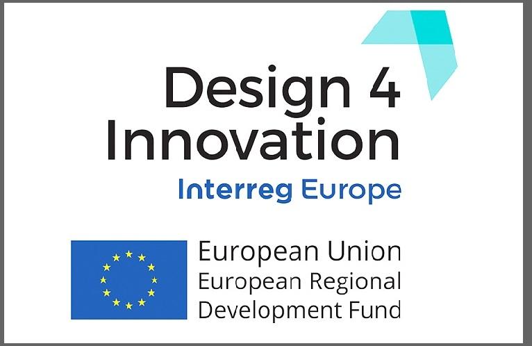 Projekt Interreg Europa Design4Innovation (D4I) – projektowanie a innowacyjność regionów