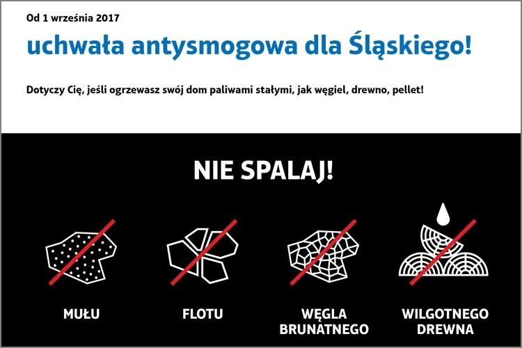 Od 1 września br. w regionie obowiązuje uchwała antysmogowa!